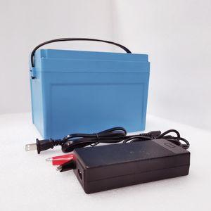 12 v 100Ah batterie lifepo4 batterie 12 v 100Ah pour système solaire batteries de stockage de golf chariot de golf panier aucun impôt livraison gratuite