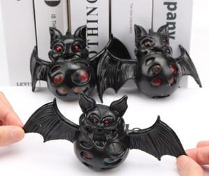 Bola de descompressão ventilação apertando borracha macia animal simulação crianças morcego criativo todo esmalte bead bola brinquedo atacado