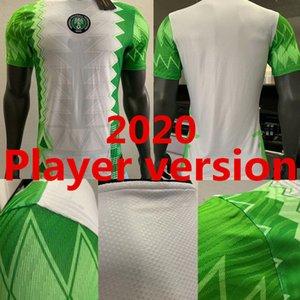 Player version 2020 Nigeria Home Soccer jersey 20 21 Nigeria Okechukwu OKOCHA AHMED MUSA MIKEL IHEANACHO Football shirt Uniform
