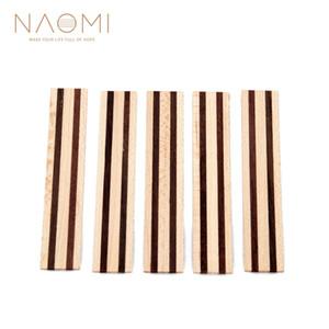 NAOMI 5 Stücke Klassische Gitarre Brücke Tie Blocks Inlay Holzrahmen Serie Gitarre Teile Zubehör Neue NA-09