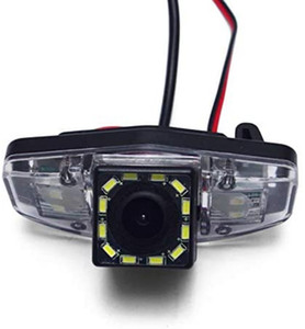 Car Câmara de visão traseira de backup Reversa câmera de estacionamento com luz LED para Honda Accord (1998-2011)