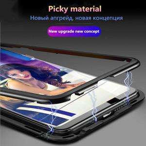 Magnetische gehärtetes Glas Telefon CasesCover für xiaomi mi 8 8SE 8lite mi 9 9SE mi 9t pro Redmi 7a 7 note 5 6 7 pro k20 pro Doppelseitige Shell