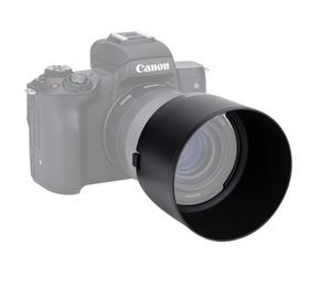 Бленда объектива LH-ES60 для Canon EF-M 32mm f / 1.4 STM заменяет объектив ES-60 позволяет надеть 43-мм фильтр и крышку объектива