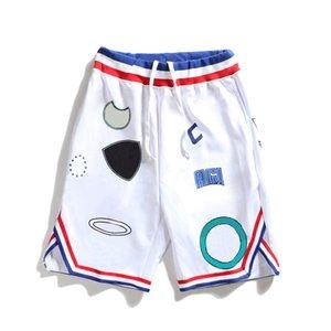 Calças 18SS Mens Stylist Shorts alta qualidade Mens Verão Basketball Shorts famosos Pour Hommes Sportswear