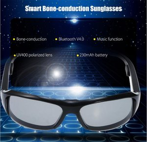 Bone Conduction Bluetooth Sunglasses - USB Port