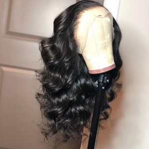 360 Lace Frontal Wig Pre Plucked With Baby Hair 130 Density Remy Brazilian Body Wave Human Hair Wig For Black Women