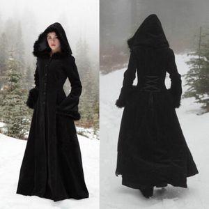 Capas negro de Navidad para la boda formal de la chaqueta de manga larga Accesorios nupcial piel de imitación de terciopelo elegante Escudo boda Capes