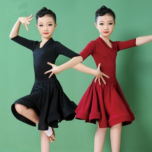 Girls Carnival Jazz Dancewear Costume Kids Modern Latin Ballroom Party Dancing Dress Child Dancing dress Wear Clothes For Girls
