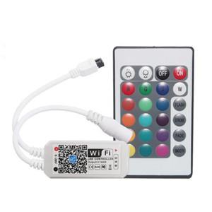 와이파이 RGB 컨트롤러 DC 5-28V 미니 24Keys 알렉사 음악 컨트롤러 라이트 스트립 컨트롤러를 들면 RGB LED 스트립