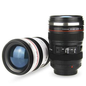 Creativa Lens Cup 400ml fodera dell'acciaio inossidabile Camera Lens tazze tazza di caffè tazze con coperchio della novità Gifts Thermocup Thermo Mug