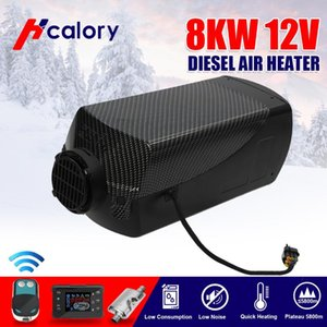 HCalory 8KW 12V Diesel Heater Parking Air Heater Diesel Parking Set With Remote Control LCD Monitor for RV, Motorhome