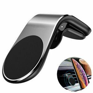 Universal Phone Holder Clip Car Air Vent Magnetic Bracket Mobile Phone GPS CA
