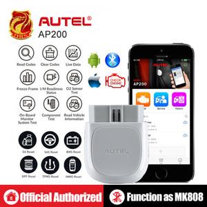 Strumento di diagnostica di Autel AP200 Bluetooth OBD2 di codice auto del sistema completo di lettore dell'automobile esplorazione diagnostico automobilistico strumento PK MK808