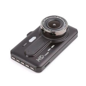 """1080P FHD Auto DVR dashcam Auto Video Registrator Datenrekorders 2Ch dual Nocken 170 ° + 120 ° weite Blickwinkel 4"""" Touch-Panel-Nachtsichtfahr"""