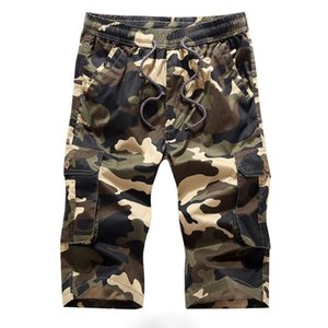 New 2020 Fashion Camouflage Shorts Men Bermuda Masculina Summer Casual Multi-Pocket Mens Cargo Short Pants Masculino Plus Size