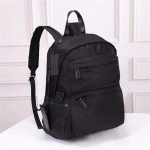 Toptan klasik su geçirmez naylon büyük kapasiteli sırt çantası Oxford eğirme moda Retro erkek dizüstü sırt çantası moda ince seyahat çantası bac