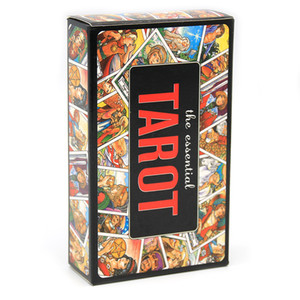The Essential Tarot Deck 78-card Game Toy Divination The Essential Book and Card Set Unlock The Secrets of Ancient and Mystical