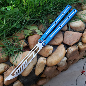 Newer The one sea monster high end integrated aluminum handle practice Free-swinging Knife camping knife Accessories can be sold