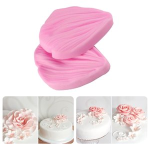 3 pc 3D Peony Flower Petals Embossed Silicone Mold Relief Fondant Cake Decorating Tools Chocolate Gumpaste Candy Clay Moulds