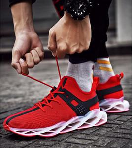 Seksi Blade Erkek Tasarımcı Sneakers Best Seller Gençlik Trend Casual Yabani Ayakkabı Erkekler Süspansiyon Kaymaz Mesh Spor Ayakkabı 7-12 Koşu