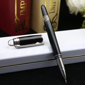 Promozione di lusso penna Star-waiker resina nera Rollerball B-M Penna a sfera Fontana di Penne scrittura di cancelleria scuola forniture per ufficio