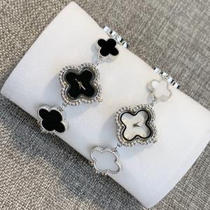 orologi quadrifoglio di lusso delle donne dell'orologio vestito da stile adatta il vestito quarzo fortunato orologio femminile Reloj mujer guardare superiore migliore regalo di qualità