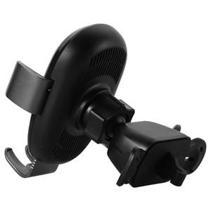 Ремакс RM-C39 10W Qi Wireless Fast Car Charger Регулируемый держатель телефона - черный