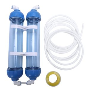 ome Appliances Top Sale Water Filter 2Pcs T33 Cartridge Housing Diy T33 Shell Filter Bottle 4Pcs Fittings Water Purifier For Reverse Osmo...