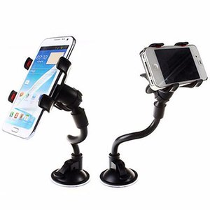 , Long Car Mount Arm universale parabrezza cruscotto dell'automobile supporto per parabrezza supporto del telefono gradi di rotazione Car Holder G2UV