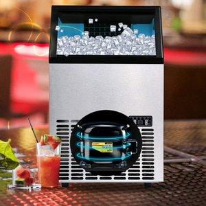 HZB-55 Gewerbliche Eismaschine Große automatische Quadratische Eiswürfel-Eismaschine für Bars, Cafés und Kaltgetränke