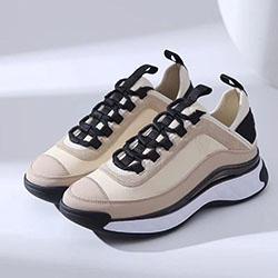 Chanel Shoes 2020 neuer Männer und Designer Frauen Leder Wildleder Kalbsleder mit Wildleder Kalbsleder ursprünglichen Kasten der besten Qualität lässige Designerschuhe a0214
