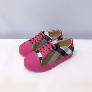 Enfants chaussures de designer garçons et filles automne tissu respirant chaussures portable semelle d'usure antidérapante classique modèle de grille taille eur 26-35
