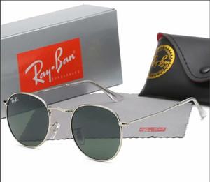 Vidano óculos ópticos steampunk óculos de sol vidros à moda redondas de metal para homens e mulheres