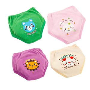 Potty Training Pants Baby Nappies for Toddler Boy Girl Panties Reusable Washable Cloth Cotton Diapers Waterproof