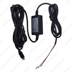 оптовые 1500mA автомобиля Micro USB 8V к 40V Авто Даш камеры DVR Katallobar Hardwire Комплект кабеля снижения напряжения # 5630