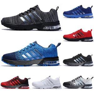 2020 running casual shoes men women black white blue grey Breathable cushion soft mens tainers outdoor sports sneakers size 36-45 Color5