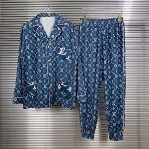 20ss Frankreich Italien Hochwertige neue heiße Art und Weise Cloth Eisseide Männer Stoff Anzug Frauen Mens Mantel Hosen