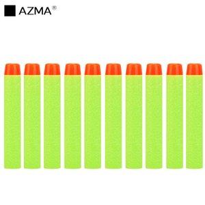 AZMA 100PCS For Nerf Bullets Soft Hollow Hole Head 7.2cm EVA Darts Toy Gun Bullets for Nerf Series Toys gun Kids Gifts