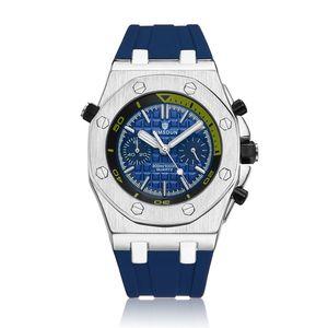 KIMSDUN Relojes de Marca Para Hombre Relojes Top Hombre Ejército Hombre Reloj Goma moda deporte Moda Reloj de Cuarzo Reloj de Los Hombres