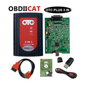 DHL OTC Plus 3 en 1 herramienta de diagnóstico probador inteligente de Forvolvo Fornissan Consulte Forvolvo OBD2 GTS con HDD