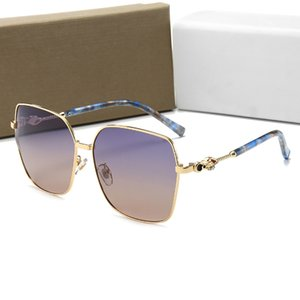 Fashion 2020 Women Designer Sunglasses Square Big Frame Summer generous Style Mixed Color Frame Top Quality UV Protection Lens