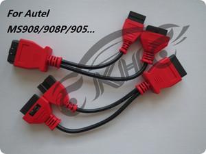 لـ Autel لـ MITSUBISHI لـ HYUNDAI -12 + 16 دبابيس MaxiSys Pro MS906 MS906BT MS906TS MS908S Pro Mini MaxiCOM MK908P OBD I Adapters