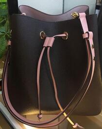 Novos 2020 sacos de ombro projeto com mulheres bolsa de couro balde de design bolsas famosas flores de alta qualidade de impressão bolsa saco crossbody