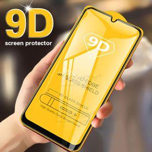 Стекло для редми 8T 6A 5A Pro Примечание 7 Изогнутые края Закаленное стекло для Xiaomi редми 4X MI 8 9 SE Play Примечание 7S Полный клей Обложка Screen Protector