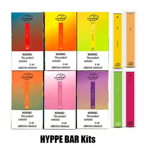 Hyppe Bar à usage unique dispositif à usage unique Vape Pen 280mAh Batterie de Pod cartouches vides 300 Puffs Starter Kit Vs Puff plus POP
