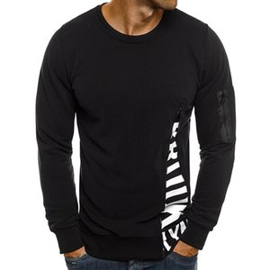 Designer Mens Letter Printed Pullover Zipper Sleeve Hoodies Fashion Long Sleeves Mens Sweatershirt Casual Solid Color Male Clothing