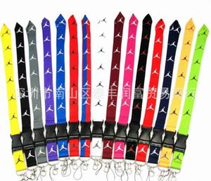 FREIES VERSCHIFFEN heiße 20pcs / Sport Marke Logo Lanyard für MP3 / 4 Handy-Schlüsselanhänger Lanyards Großhandel P006