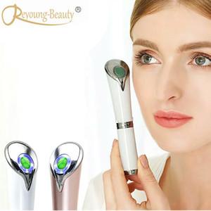 مكافحة الشيخوخة الدائرة المظلمة eyebag إزالة تجاعيد الوجه العين الجبين الأشعة أيون الاحترار الحراري اليشم الاهتزاز الجمال مدلك القلم C18112601