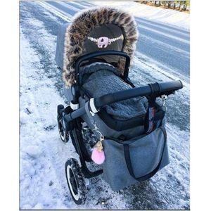 Yoya yuyu vovo yoya bambino infantile sacco a pelo neonati inverno spessore caldo coprigambe sonno Sacks bambino molle Wrap per bambini Passeggino Acces