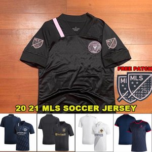 2020 2021 Soccer Jersey MLS Inter Miami Fußballtrikot Los Angeles Galaxy FC Toronto Atlanta Vereinigte Chicago Cincinnati Seattle New York City Fußballmänner